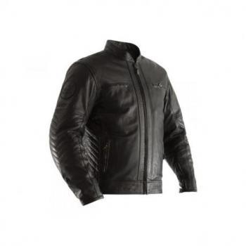 Veste RST Classic TT Retro II cuir noir taille L homme
