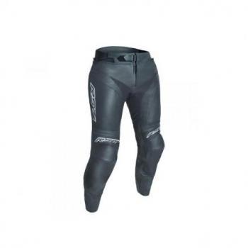 Pantalon RST Blade II cuir mi-saison noir taille XL femme