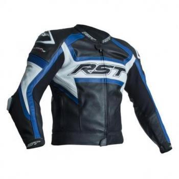 Veste RST Tractech Evo R CE cuir bleu taille M homme