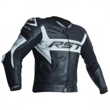 Veste RST Tractech Evo R CE cuir blanc taille M homme