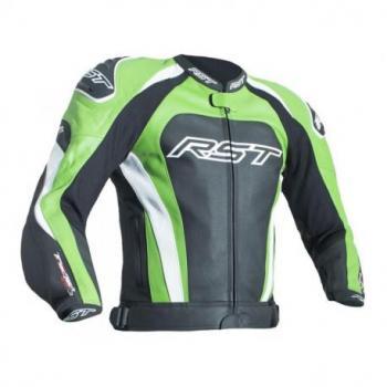 Veste RST Tractech Evo 3 CE cuir vert taille XL homme