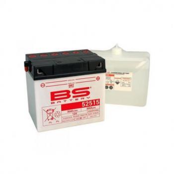 Batterie BS BATTERY 52515 conventionnelle livrée avec pack acide