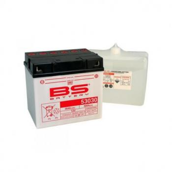 Batterie BS BATTERY 53030 conventionnelle livrée avec pack acide