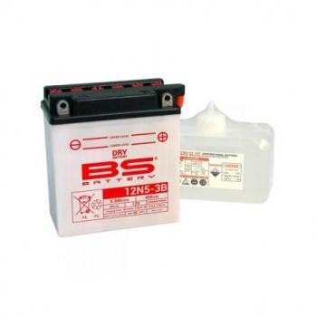 Batterie BS BATTERY 12N5-3B conventionnelle livrée avec pack acide