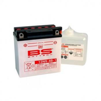 Batterie BS BATTERY 12N9-4B-1 conventionnelle livrée avec pack acide