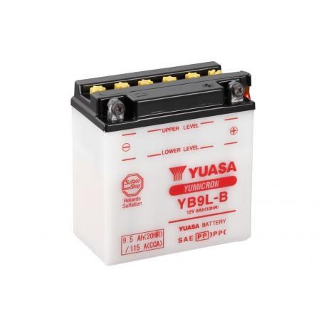 Batterie YUASA YB9L-B conventionnelle