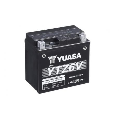Batterie YUASA YTZ6V sans entretien activée usine