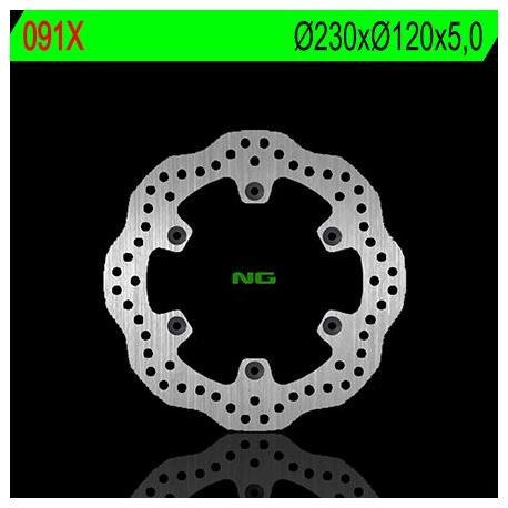 Disque de frein NG 091X pétale fixe