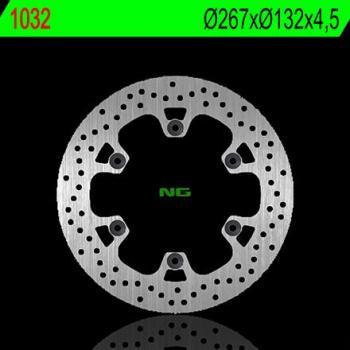 Disque de frein NG 1032 rond fixe