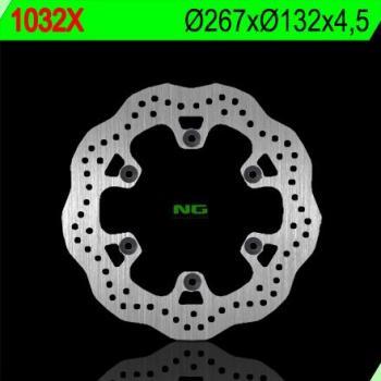 Disque de frein NG 1032X pétale fixe