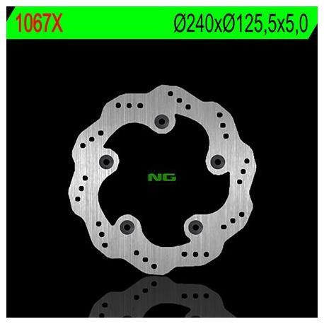 Disque de frein NG 1067X pétale fixe