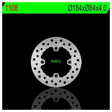 Disque de frein NG 1108 rond fixe