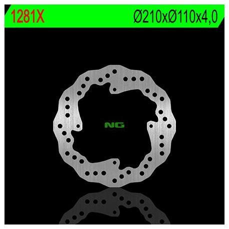 Disque de frein NG 1281X pétale fixe