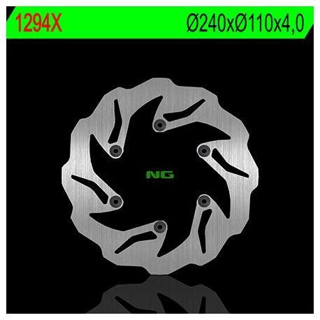 Disque de frein NG 1294X pétale fixe