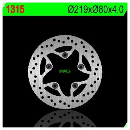 Disque de frein NG 1315 rond fixe