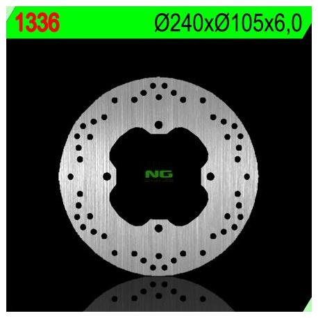 Disque de frein NG 1336 rond fixe
