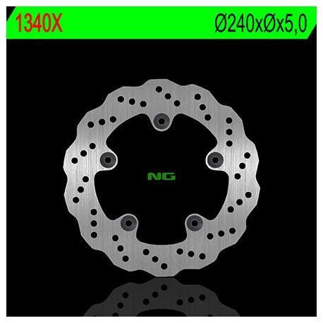 Disque de frein NG 1340X pétale fixe