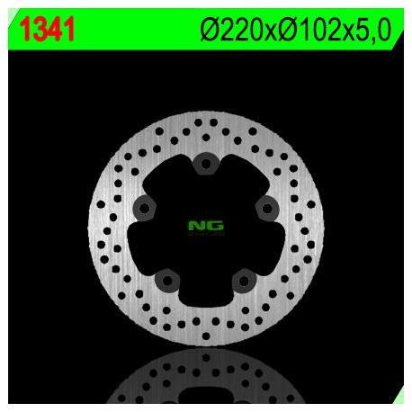Disque de frein NG 1341 rond fixe