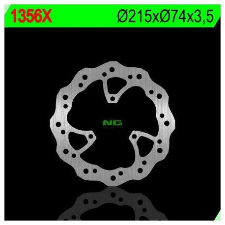 Disque de frein NG 1356X pétale fixe
