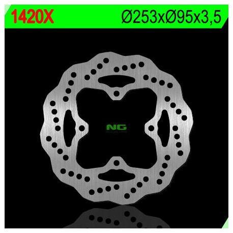 Disque de frein NG 1420X pétale fixe