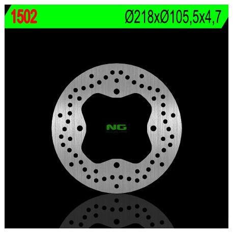 Disque de frein NG 1502 rond fixe