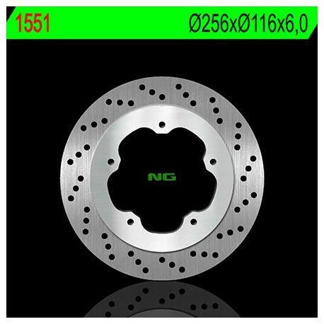 Disque de frein NG 1551 rond fixe