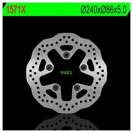 Disque de frein NG 1571X pétale fixe