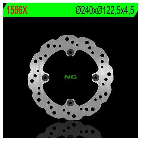 Disque de frein NG 1586X pétale fixe