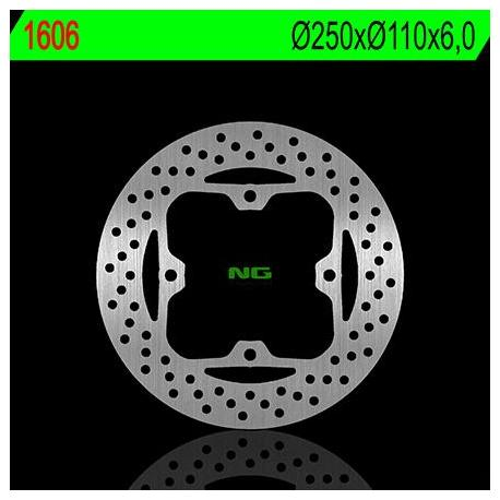 Disque de frein NG 1606 rond fixe