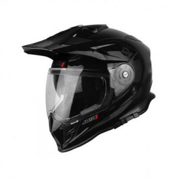 Casque JUST1 J34 Adventure Solid noir brillant taille L
