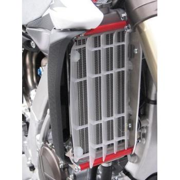 Protection de radiateur AXP alu rouge Yamaha