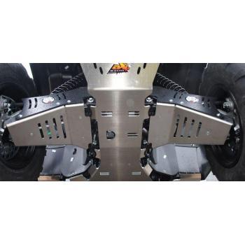 Protections de triangle avant AXP alu 4mm Yamaha