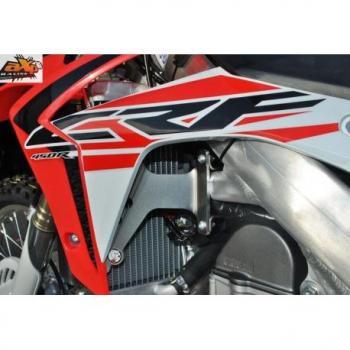 Protection de radiateur AXP alu rouge Honda CRF450R
