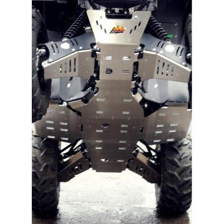 Sabot central AXP aluminium 6mm Yamaha