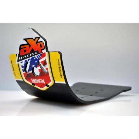 Semelle MX AXP Anaheim PHD noir/déco jaune Suzuki RM-Z250