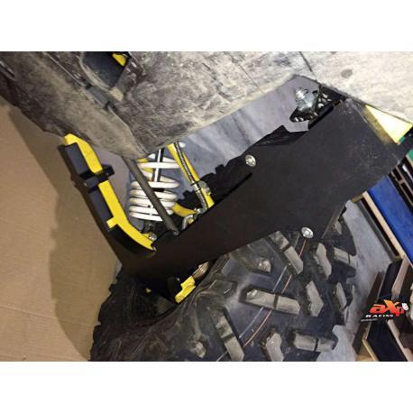 Protection de triangle arrière AXP PHD 30mm noir Yamaha YXZ1000R