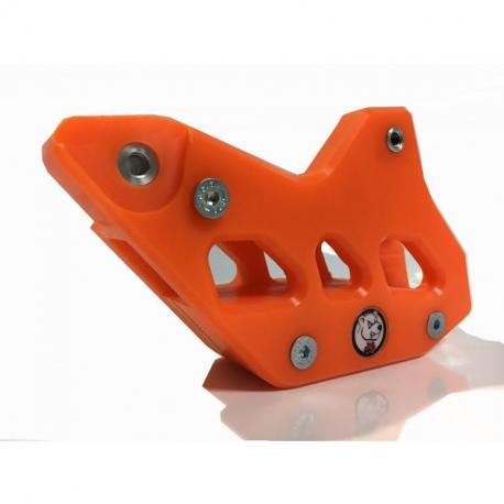 Guide chaîne AXP Teflon orange