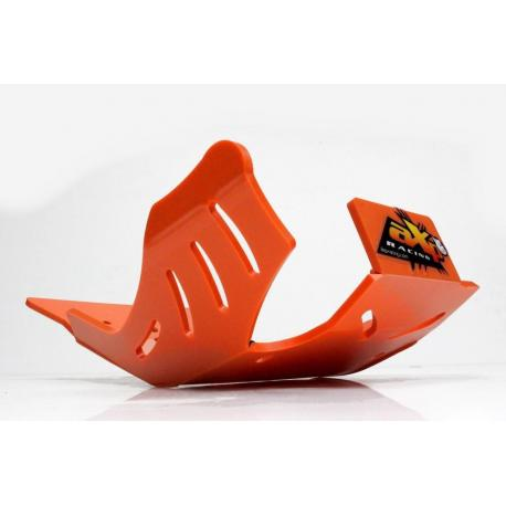 Sabot enduro AXP PHD orange KTM EXC250/350