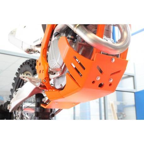 Sabot enduro AXP Xtrem PHD orange KTM SX-F250/350