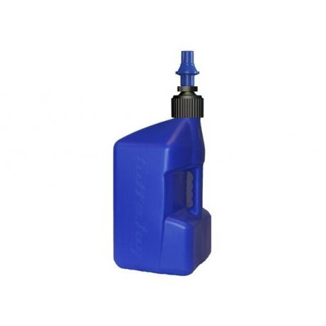 Bidon d'essence TUFF JUG 20L bleu translucide/bouchon bleu - bouchon remplissage rapide
