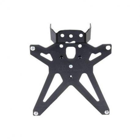 Kit support de plaque reglable Lightech noir Yamaha R1 - TARYA118