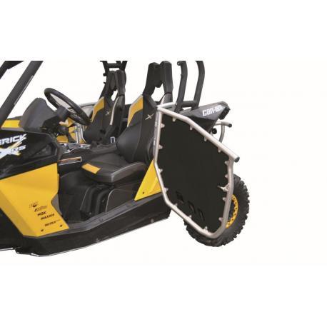 Kit portes SSV A.R.T cadre alu/panneau PHD noir Can Am Maverick 1000