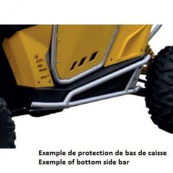Protection de bas de caisse ART Polaris RZR 1000 XP