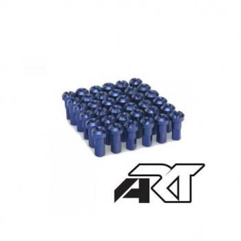 Kit têtes de rayon universel anodisées A.R.T bleu