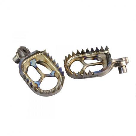 Repose-pieds SCAR Titane Husqvarna TC/TE/FC/FE 125 et +
