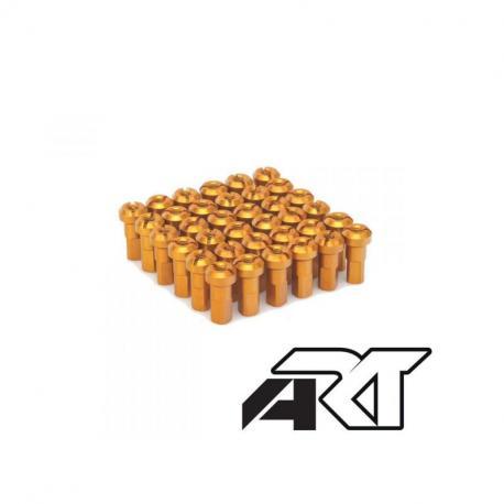 Kit têtes de rayon universel anodisées A.R.T or