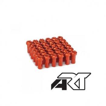 Kit têtes de rayon universel anodisées A.R.T orange