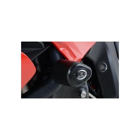 Tampons de protections R&G RACING Aero noir BMW F800R