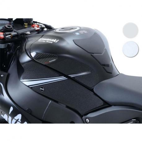 Kit grip de réservoir R&G RACING translucide (6 pièces) Kawasaki ZX10R