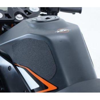 Kit grip de réservoir R&G RACING Eazi-Grip™ translucide (2 pièces) KTM RC125